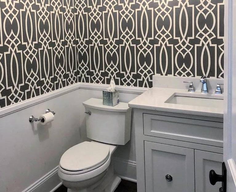 Can I Do Wallpaper In A Bathroom Will Bathroom Wallpaper Peel Off