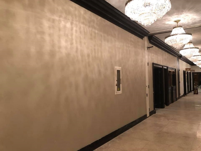 Type 2 Wallcovering In Hotel Lobby Area