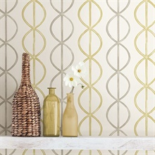 Banning Stripe Honey Geometric