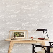 Palila Cream Cloud Wallpaper SKU 366061