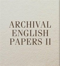 Archival English Papers II