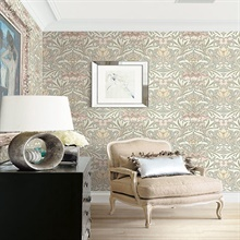 Laura Floral Wallpaper, BM60101