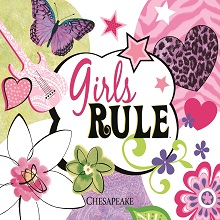 Girl S Rule Wallpaper Book Brewster Home Fashions