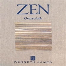 Zen Grasscloth Wallpaper Book By Kenneth James Brewster Home F