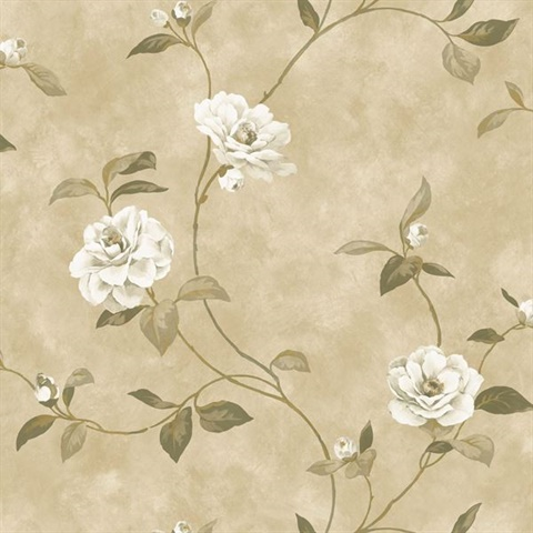 Brown Rosaline Floral