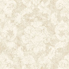 White Dreamy Damask