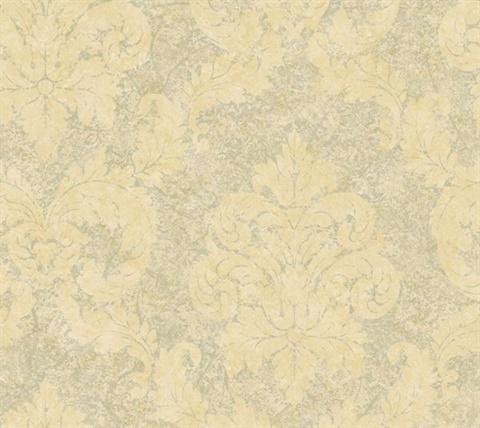 Grey Dreamy Damask
