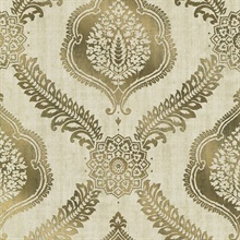 Zoraya Gold Damask