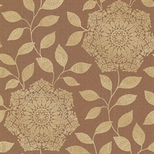 Shirazi Copper Bohemian Floral