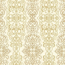 Mexuar Gold Filigree Stripe