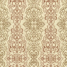 Mexuar Copper Filigree Stripe