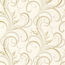Rauda Champagne Modern Scroll