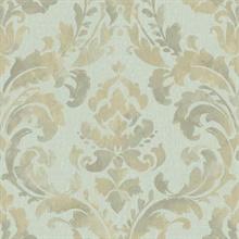iridescent framed damask nv6073