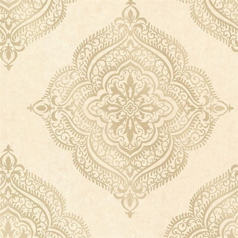 Capella Beige Medallion