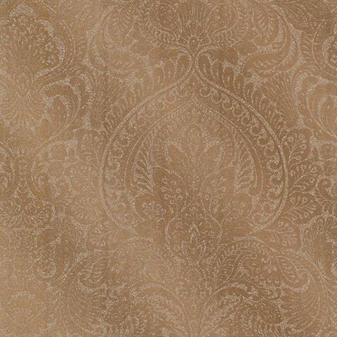 Alistair Copper Damask