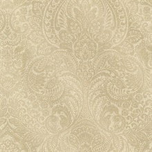 Alistair Gold Damask