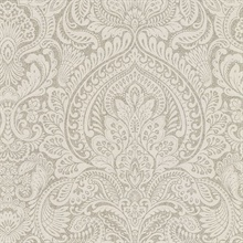 Alistair Flax Damask
