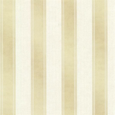 Simmons Cream Regal Stripe