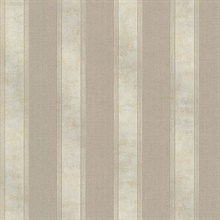 Simmons Taupe Regal Stripe