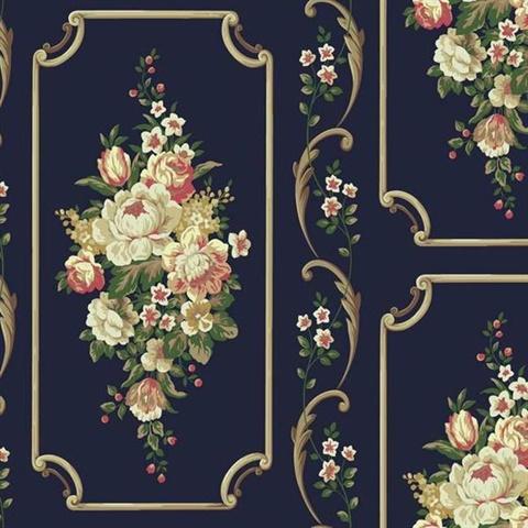 floral wallpaper panels - photo #19