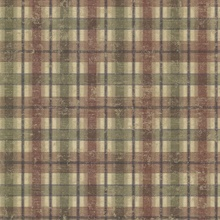 Nellie Brick Wooden Plaid