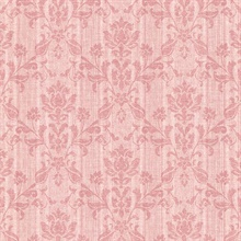 Jovina Rose Tonal Damask