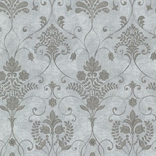 Andalusia Blue Damask