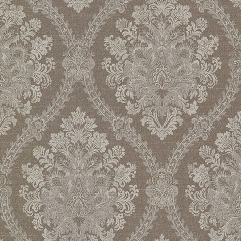 Amarissa Chocolate Jacquard Damask