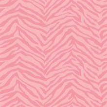 Alice Pink Faux Zebra Stripes