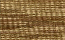 Brown and Gold and White Horizontal Striped Grasscloth
