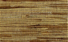 Brown White and Gold Grasscloth