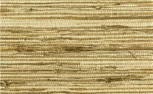 Gold White and Brown Grasscloth