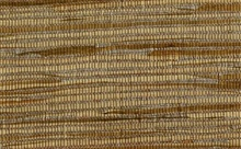 Brown Silver and White Horizontal Striped Grasscloth