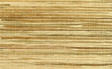Brown and White Horizontal Striped Grasscloth