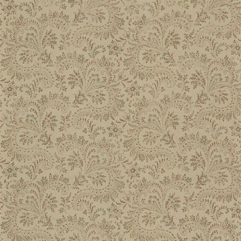 Sycamore Sage Paisley