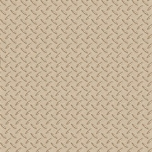 Gridlock Brown Faux Diamond Plate
