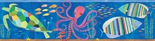 Samantha Ocean Rainbow Sea Critters Border