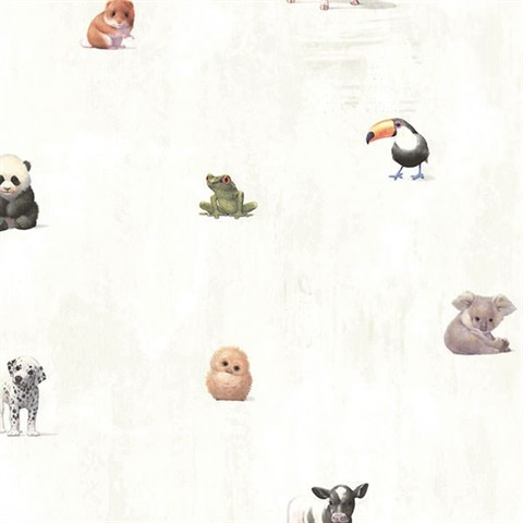 Tate Light Grey Animal Alphabet