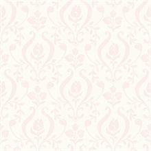 Eloise Light Pink Damask