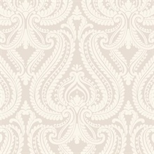 Imperial Grey Modern Damask