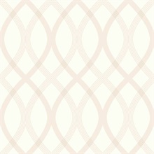 Contour Beige Geometric Lattice