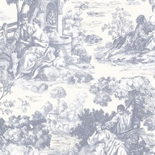 Isabella Blue Toile
