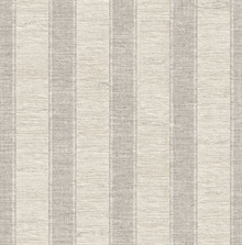 Lucette Taupe Textured Stripe