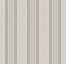 Stansie Taupe Fabric Stripe