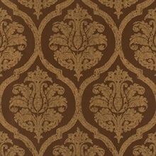 Chocolate Damask