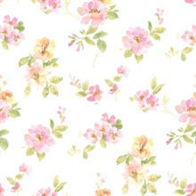 Captiva Pink Watercolor Floral