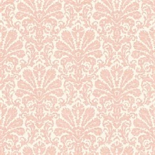Seascape Salmon Damask