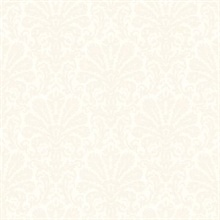 Seascape Grey Damask