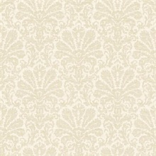 Seascape Beige Damask