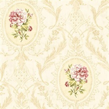 Eloisee Rose Cameo Damask